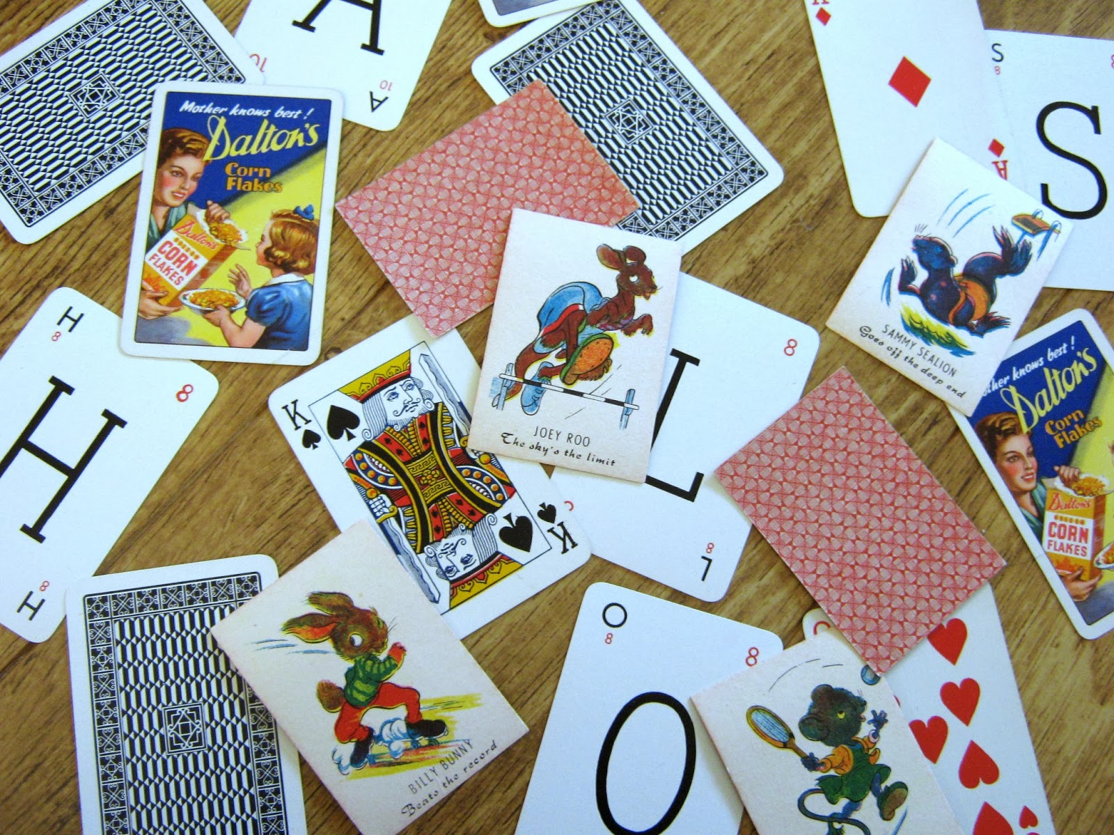 Vintage Card Games Playing Cards