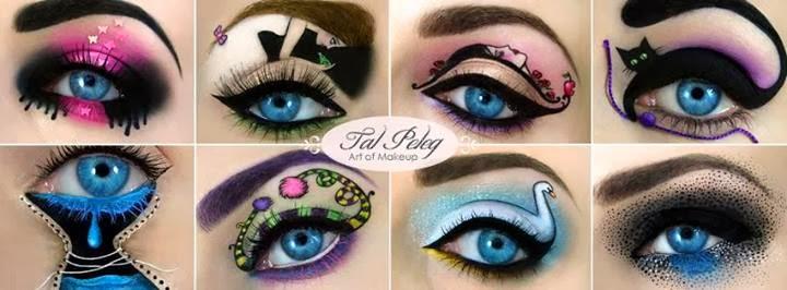 Maquiagens artísticas de Tal Peleg