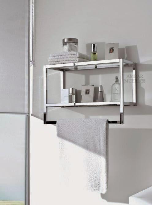 Toallero Baño Pequeno:Ideas de almacenamiento en un baño pequeño