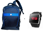 Rediff: Buy Dell Rugged Laptop Bag And Get Sports LED Watch Free at Rs. 449