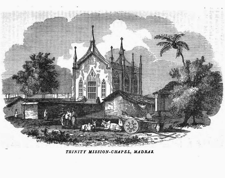 Drawing Lines In Qml : Madras vignettes the trinity chapel then and now