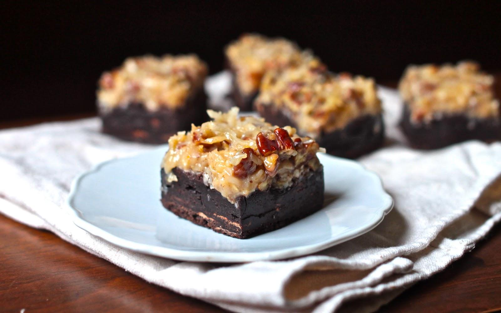 Yammie's Noshery: German Chocolate Brownies