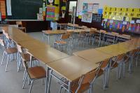 Aula classe Sant Feliu de Llobregat