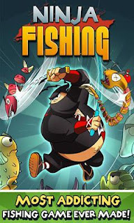 Screenshots of the Ninja Fishing for Android tablet, phone.