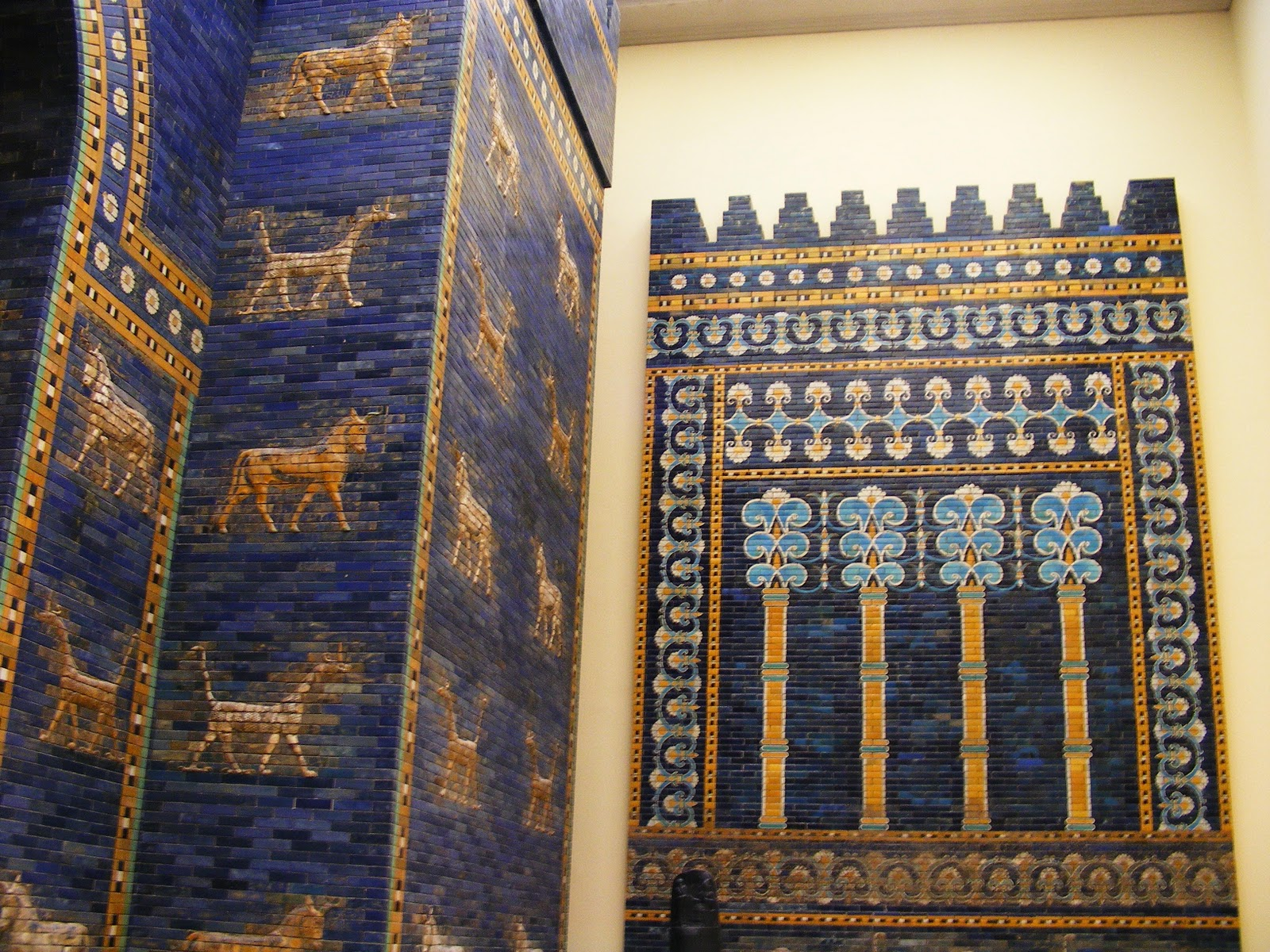 gate of ishtar Reconstruction of the ishtar gate and processional way, babylon, c 575 bce, glazed mud brick (pergamon museum, berlin) created by beth harris and steven.