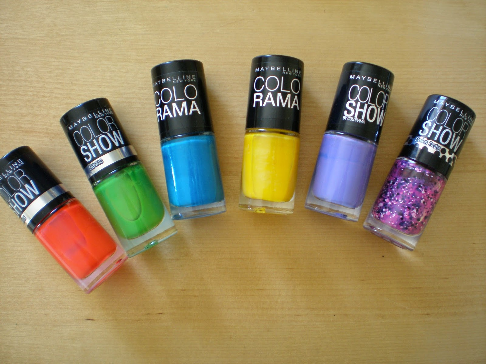 Summery nail polishes part 2