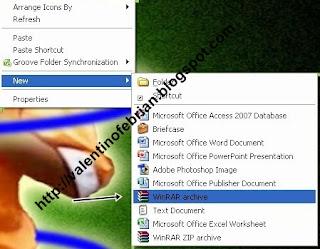 Cara Memberi Password Pada file winrar