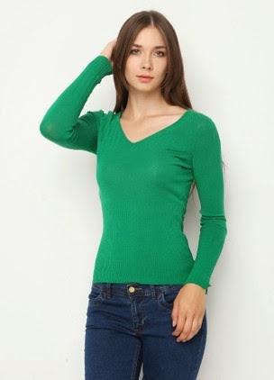 yeşil renk kazak