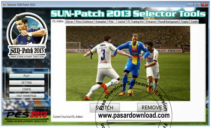 Download Update PES 2013 - Sun Patch 2013 v 2.0