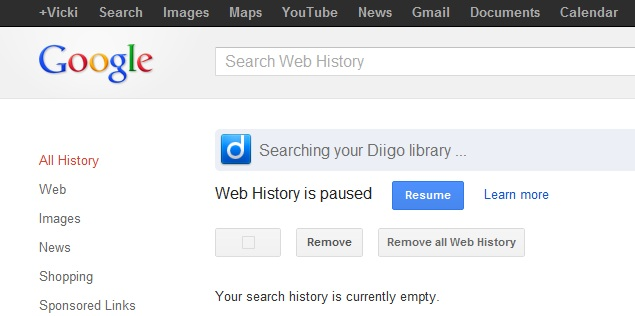 How to find your web history and how to delete it