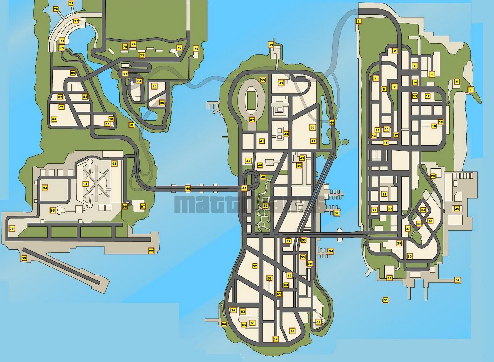 GTA:Vice City New Maps