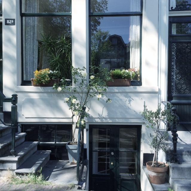 frauschmittblog: a weekend in amsterdam - Souterrain Fenster
