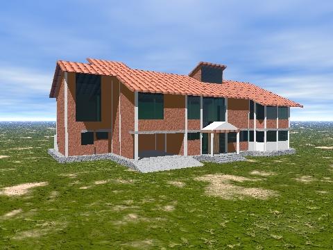 Arquitectura con identidad casa de campo en la sierra peruana for Casa de campo arquitectura