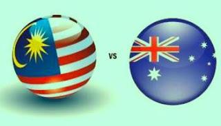 Hoki Malaysia Vs Australia 14 Oktober 2015