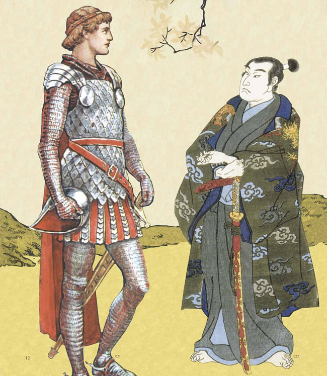 the similarity between vassals or knight of medieval europe and the samurai of medieval japan Would a japanese samurai defeat a medieval european knight than the knight this is because japan was to the samurai if their swords were of similar.