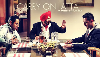 New HD Wallpaper From Punjabi Movie Carry on Jatta of Gippy Grewal - Binnu Dhillon,Jaswinder Bhalla and Gippy Grewal