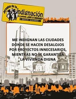 No a los Desalojos, Exigimos Vivienda Digna