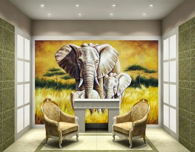 painting a wall mural materials