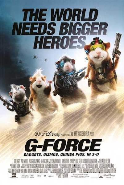 Poster of G-Force 2009 720p BRRip Dual Audio