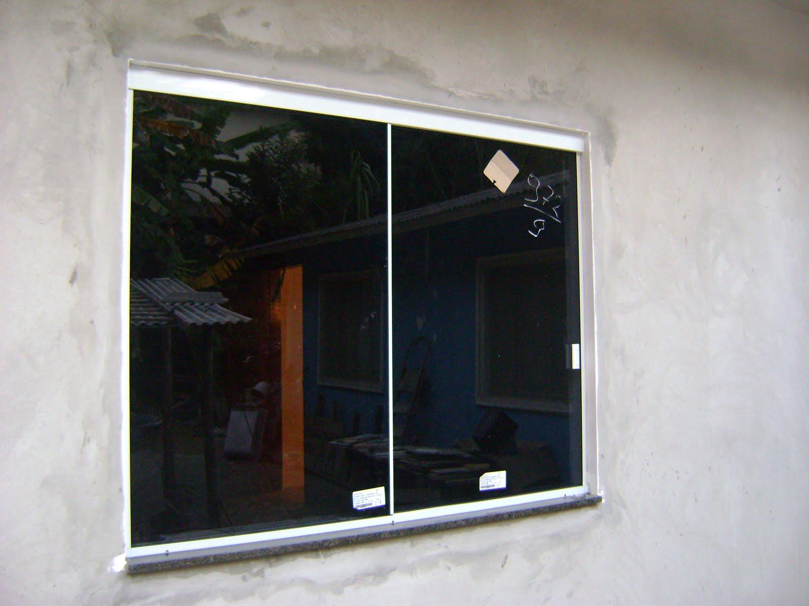 #5E3118  SERRALHERIA: Janela correr 2 folhas vidro fumê aluminio fosco 1274 Preço De Janela De Aluminio 4 Folhas