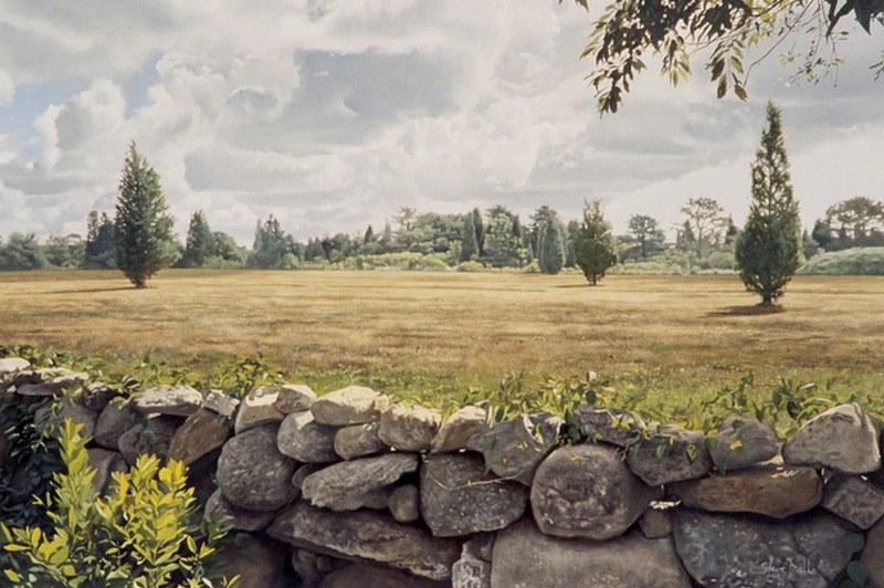 Im genes arte pinturas paisajes con piedras for Pintura de piedras