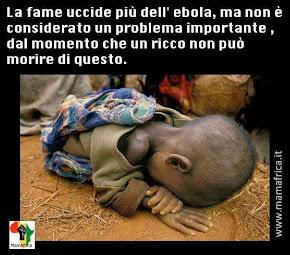 La fame e l'ebola