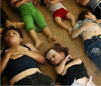 Barbarism Alert - Death Toll in Syria is over 150,000 souls - as of Apr. 1, 2014 ...and rising