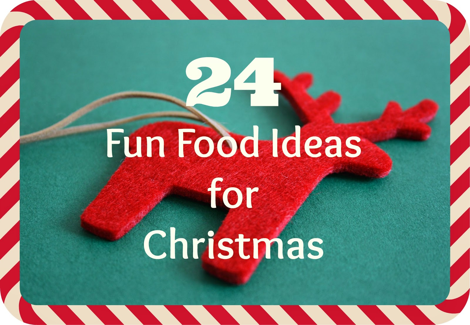 Fun food christmas
