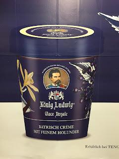 pot glace louis II bavière bretzel et cafe creme