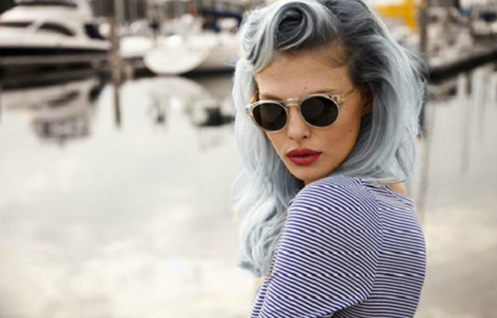 Cabelo Cinza (granny hair) #1