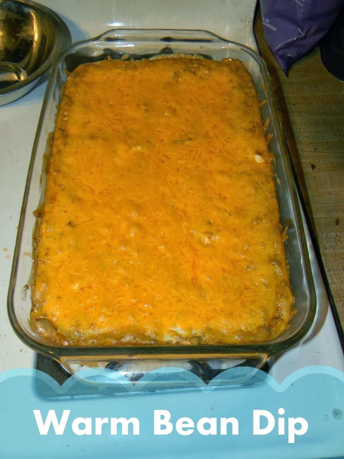 http://growingtofour.blogspot.com/2013/01/warm-bean-dip.html
