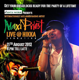 Maxi Priest Live at Hikka E-Lankanews