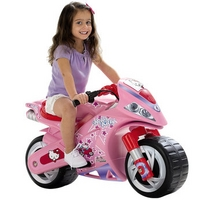 Hello Kitty children's toy motorcycle for kids