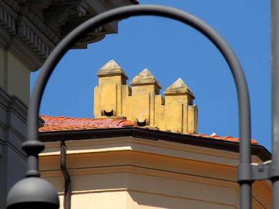 Palazzo San Francesco, roof, Livorno