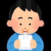 ピロリ呼気検査のイラスト