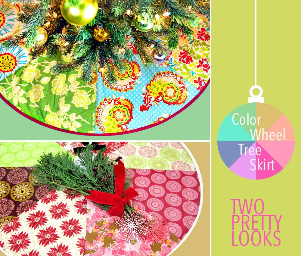 Free pattern day! Christmas Tree skirts   Quilt Inspiration   Bloglovin\'