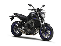 Yamaha MT-09 blue