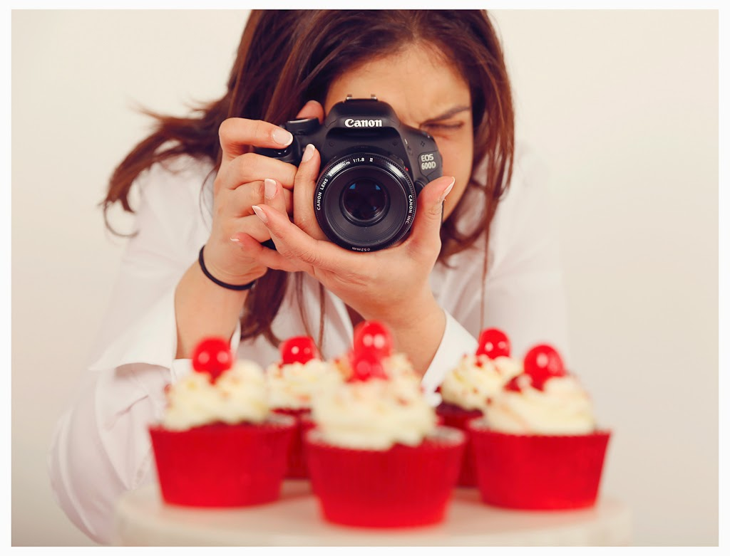 fotografía cupcakes