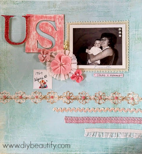 tips for paper crafting with vintage pictures www.diiybeautify.com