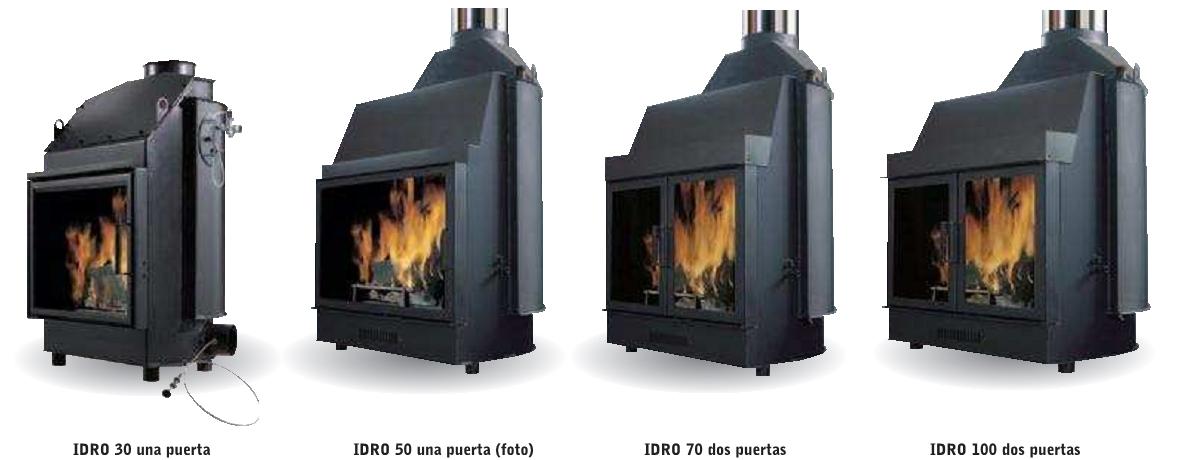 entramados soluciones bioclim ticas chimenea de le a On chimeneas de lena calefactoras de agua