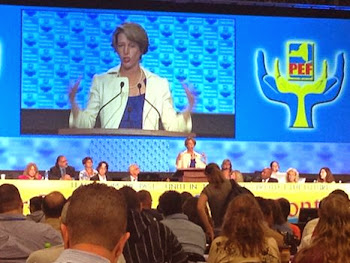 """It's not just public services - it's our democracy that's being privatized"". - Zephyr Teachout"