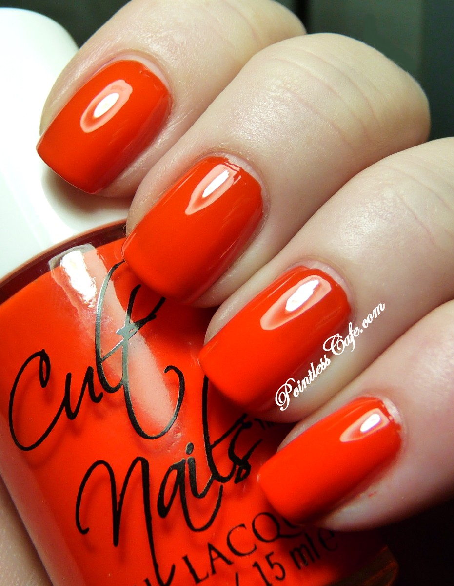 Cult Nails Ay Poppy Nail Lacquer Review, Photos, Swatches