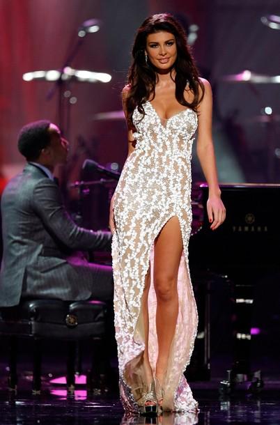 Angela Martini Miss Universe Albania No Panties Upskirt