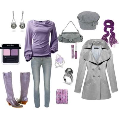 Tu imagen habla junio 2012 - Combinar color lila ...
