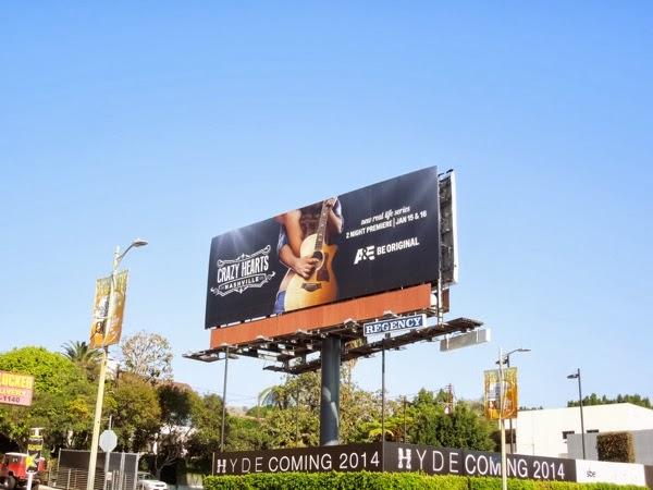 Crazy Hearts Nashville season 1 billboard