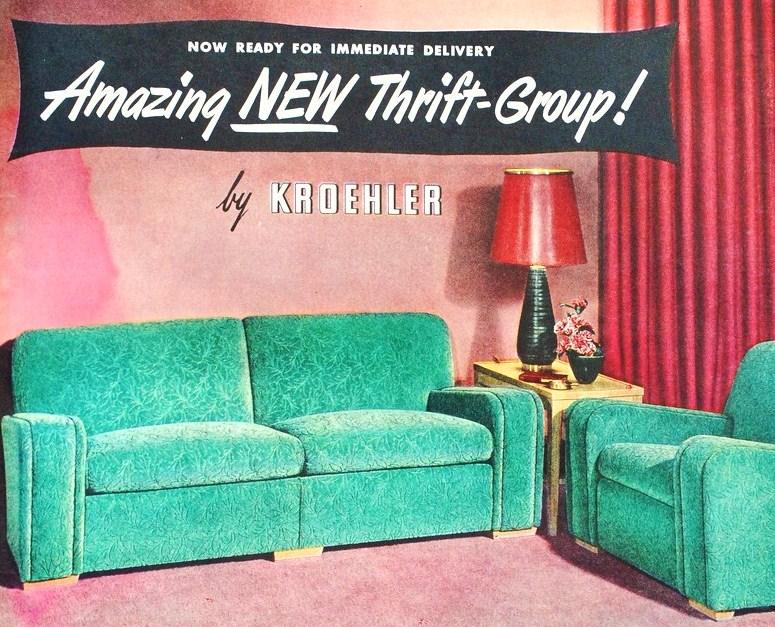 Farm Girl Pink....: ~ Living rooms... Kroehler Furniture...