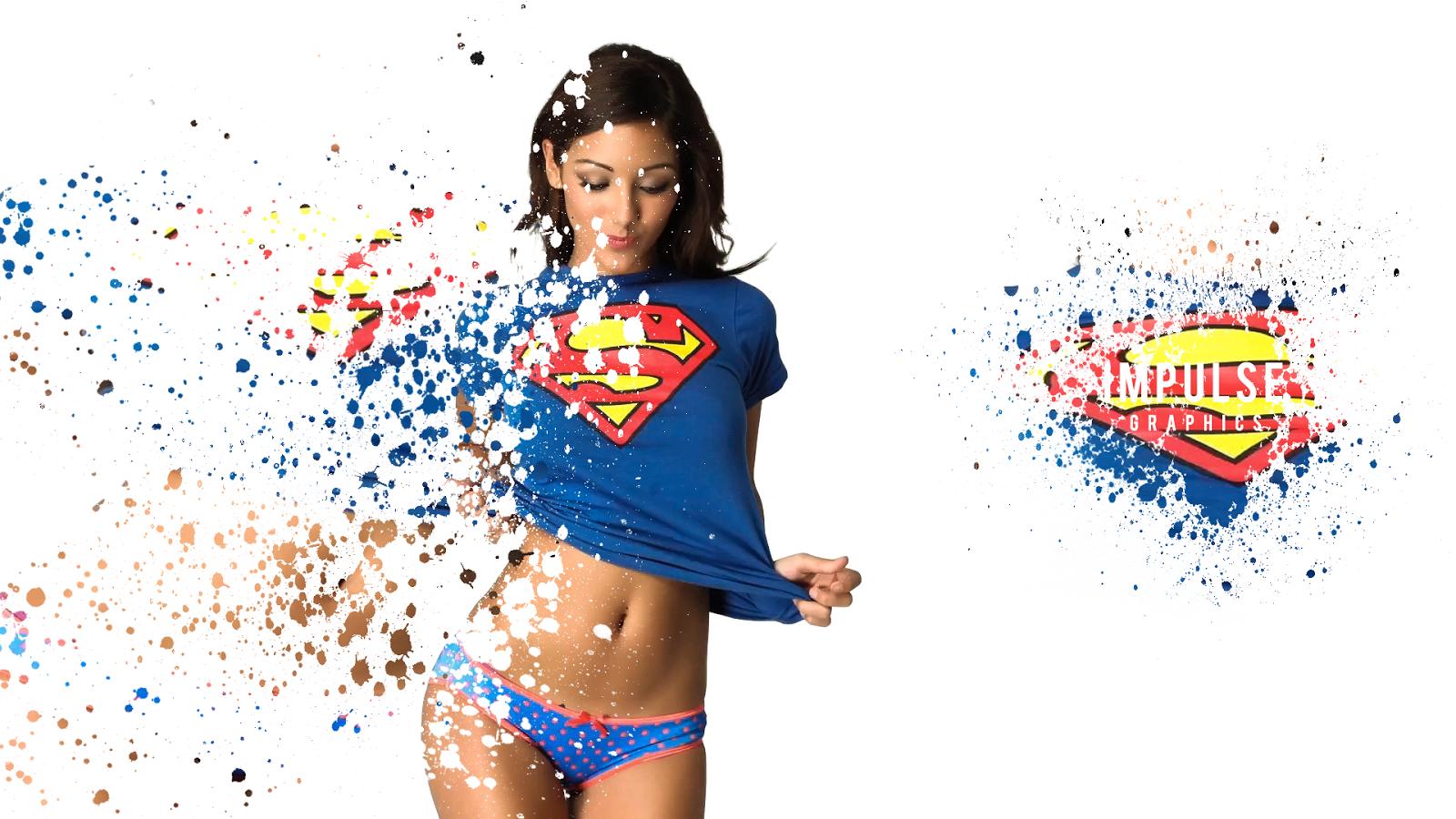 ImpulseGraphics: Melanie Iglesias Superman, ImpulseGraphics