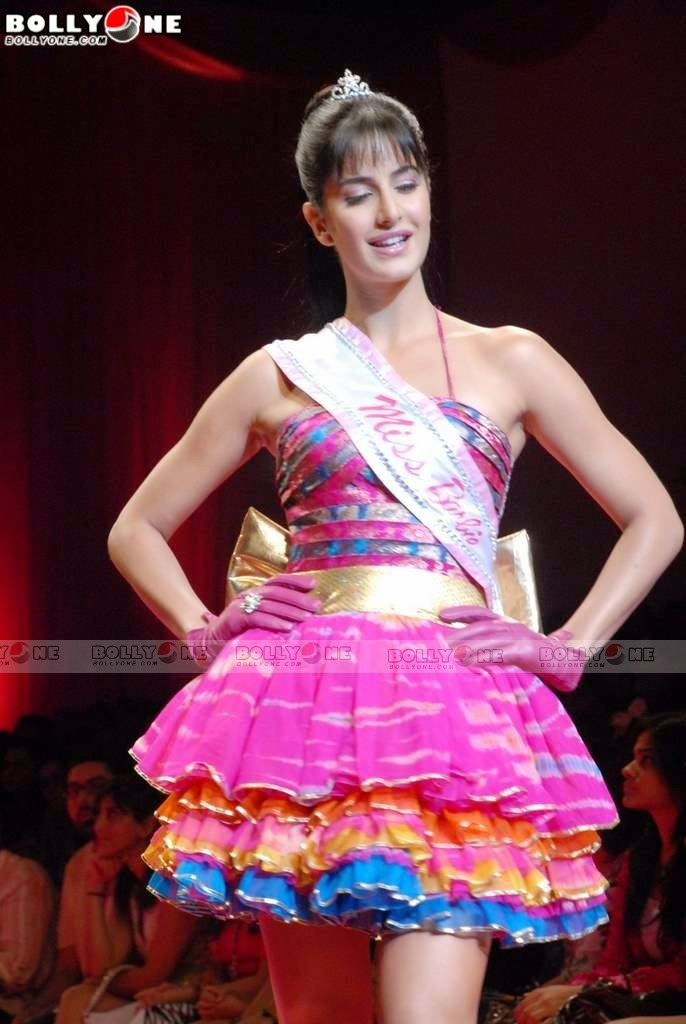 Katrina Kaif pink doll