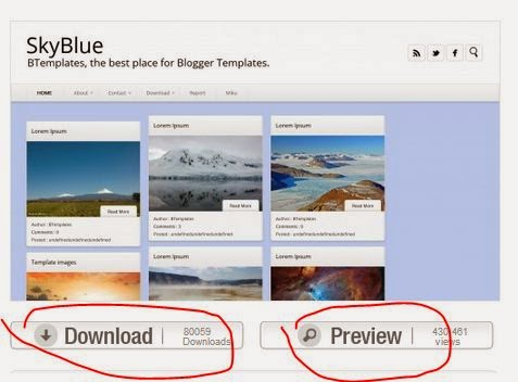 Btemplates, Tempat Download Template Blogger Gratis
