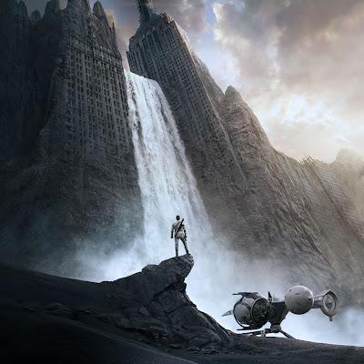 Oblivion Movie iPad Wallpaper